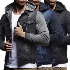 jeanscoat, Fashion, hoodedjacket, Coat