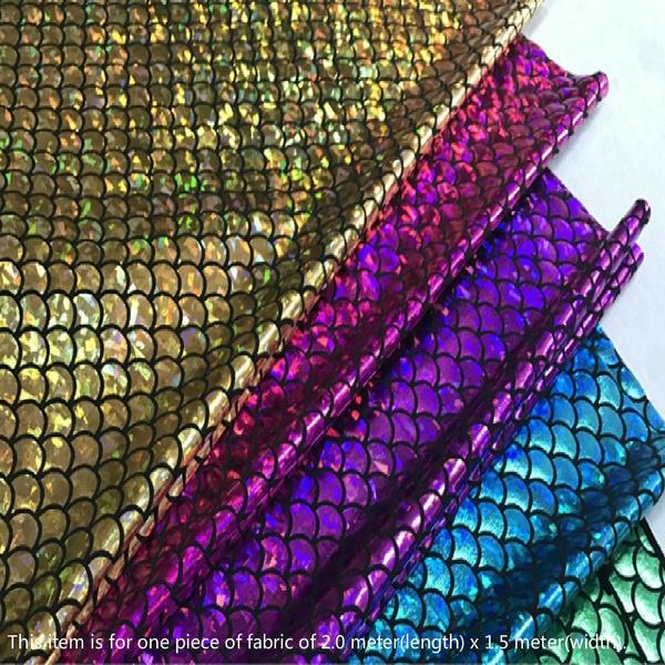 scalefabric, mermaidfabric, Fabric, Glitter
