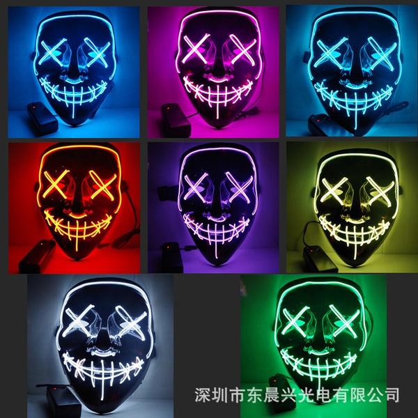 Cosplay, light up, lights, Masks
