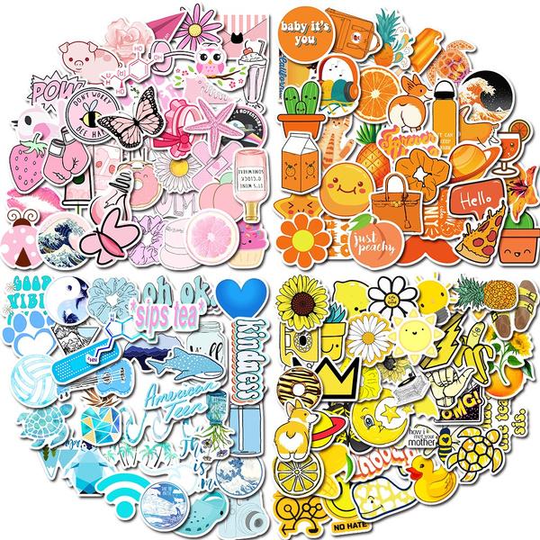 Waterproof, Stickers, kidsticker, stationerysticker