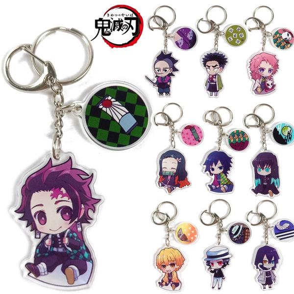 cute, Key Chain, Demon, decoration
