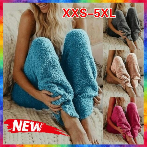 pyjamafemme, elastic waist, Winter, Casual pants