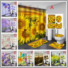 doormat, Bathroom, Door, Sunflowers