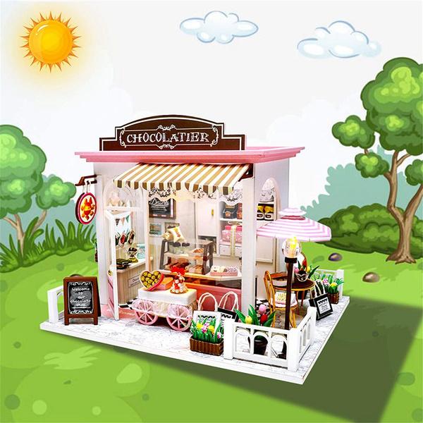 miniaturehousekit, Toy, led, diyminiaturedollhousekit