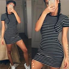 Mini, Fashion, Summer, Dress