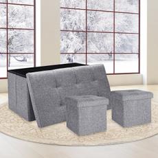 Storage & Organization, foldingstoragebox, foldablestoragestool, storagechair