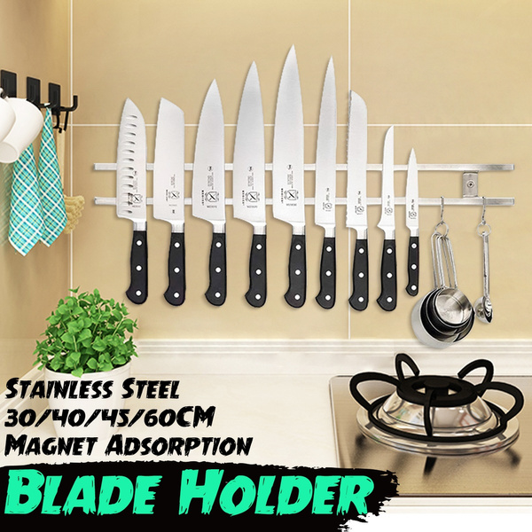 Steel, knifeholder, wallmounted, kitchenwareholder