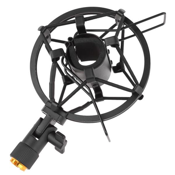 microphoneshockabsorptionrack, microphoneholder, Mount, Metal