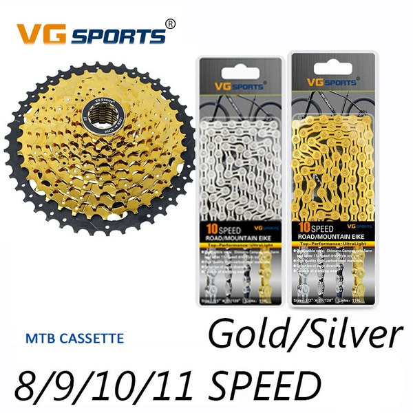 Bicycle Chain 8 9 10 11 Speed Gear Mountain Bike Road Bike Hybrid Cycle Links US