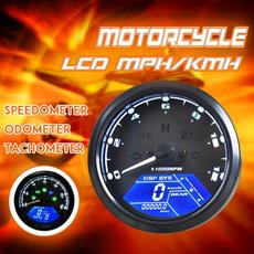 motorcycleaccessorie, 12000rpmgauge, lcddigital, tachometergauge