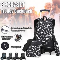 trolleycase, Shoulder Bags, School, trolleybackpack