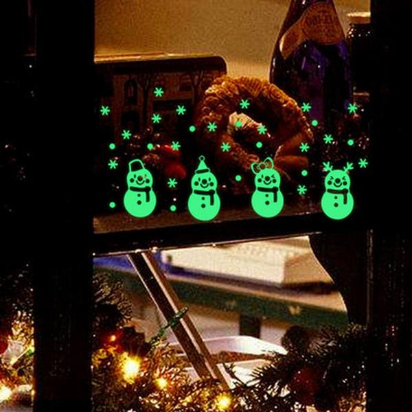Decor, windowsticker, Christmas, Wall Decal