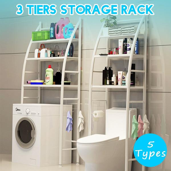 toilet, Bathroom, metalrack, storagerack