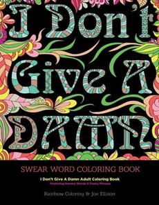 curebook, Funny, paperback, swearword