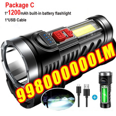 Flashlight, Rechargeable, led, usb