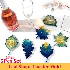 mould, coastermold, leaf, Jewelry