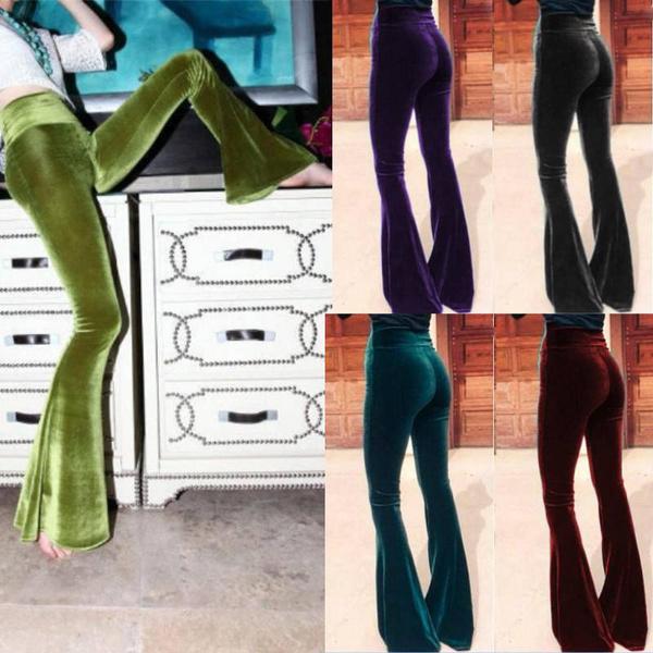 Women Pants, Fashion, Bell, tighttrouser