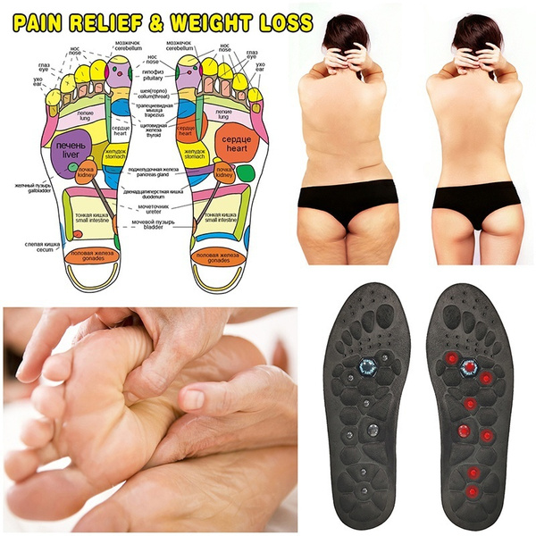 magnetinsole, footmassageinsole, weightlo, Insoles