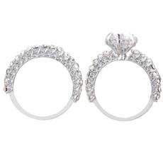 Couple Rings, bridejewelry, DIAMOND, Women Ring