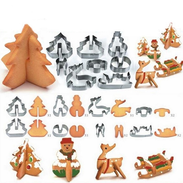 Bakeware, Steel, Christmas, Jewelry