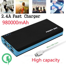 Smartphones, External Battery, Mobile Power Bank, usb