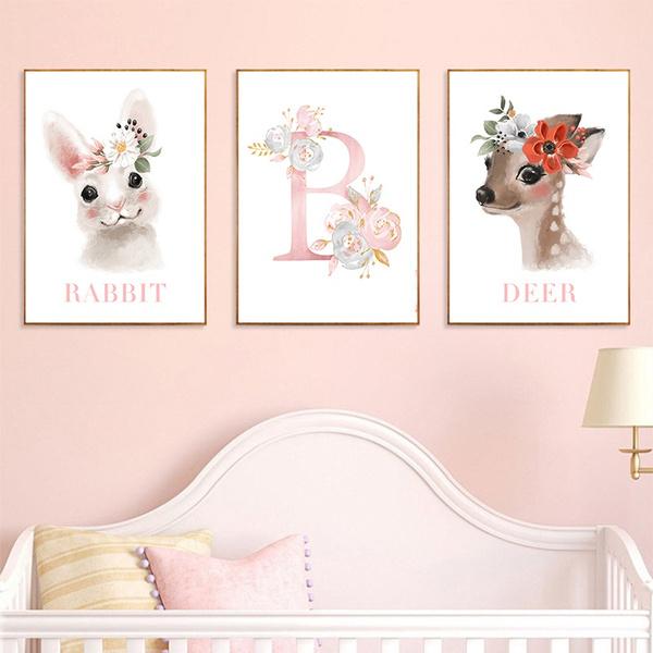 art print, cute, girlsbedroomdecor, Wall Art