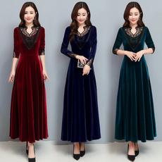 slim dress, slim, sleeve dress, Winter