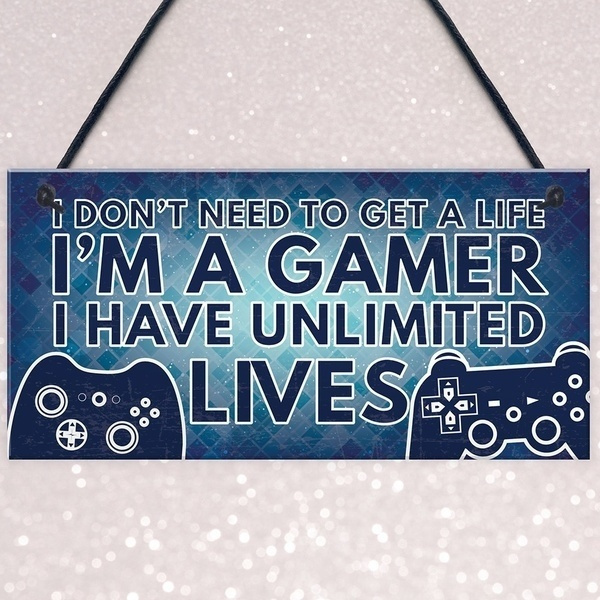 Funny, hangingplaque, Gifts, gamingaccessorie