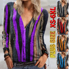 Fashion, Long Sleeve, printed shirts, womens top