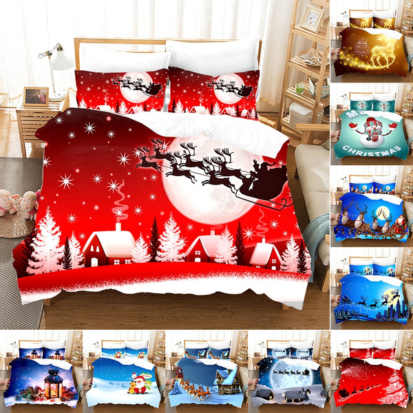 merrychristmasserie, Decor, Christmas, quiltcover