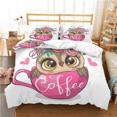 beddingkingsize, Owl, beddingsetkingsize, Bedding