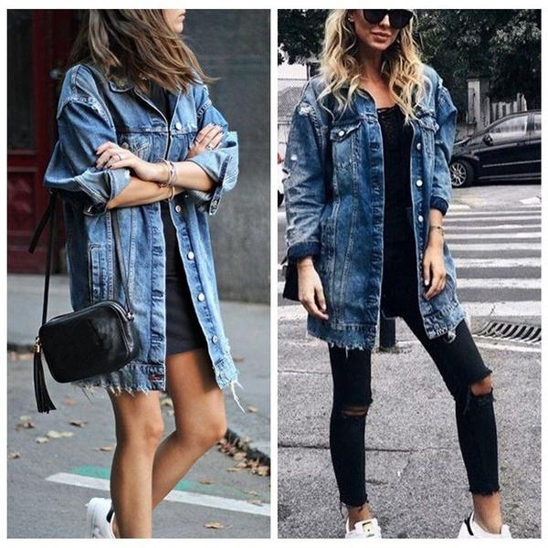 Summer, Fashion, womenslongcoat, loose top