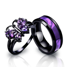 Couple Rings, butterfly, butterflyring, wedding ring