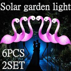 groundspotlight, flamingo, led, Garden