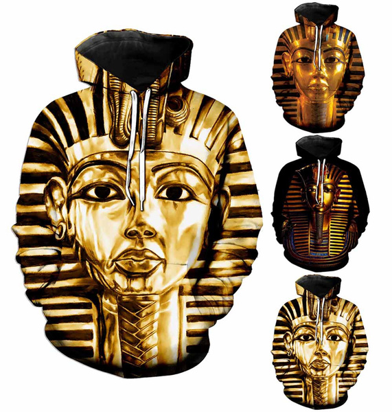 3D hoodies, Fashion, egyptianpharaoh, egyptianpharaohhoodie