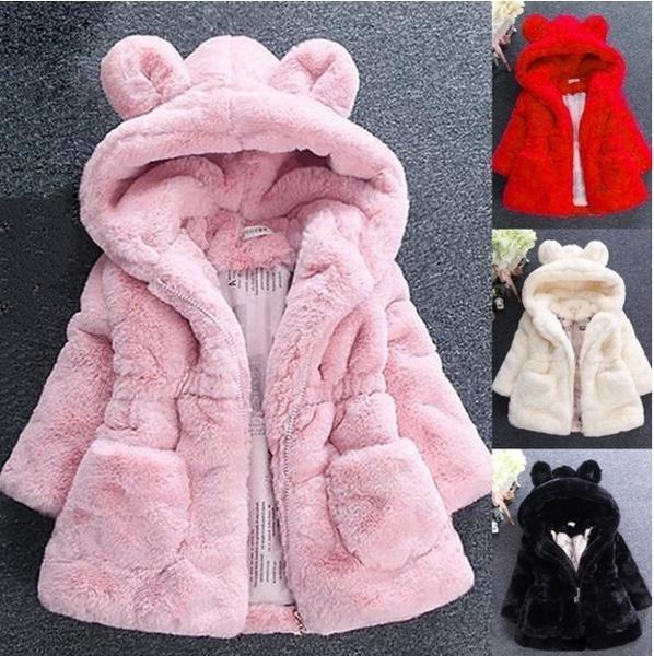 cute, Fashion, hoodiesampsweatshirt, warmprincesscoatkid
