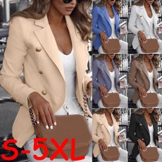 casual coat, Jacket, shortcoat, Plus Size