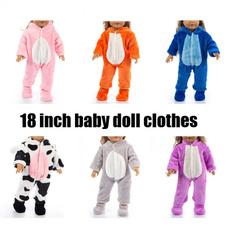 Fashion, dollpajama, 18inchdollanimalpajama, doll