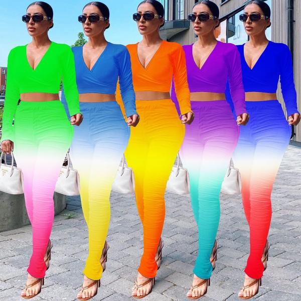 weddingparty, gradientcolor, Plus Size, high waist