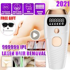 laserhairepilator, Laser, Electric, painlesshairremoval