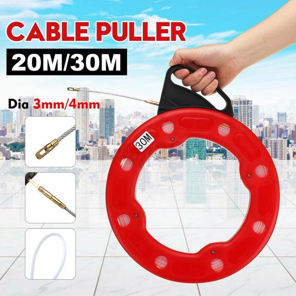 Rope, wirepuller, fish, fiberglasswirecable