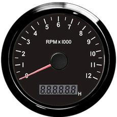 tachometer, tachogauge, adjustablehourmeter, rpmmeter