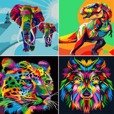 kids, kidspainting, Oil Painting, Colorful