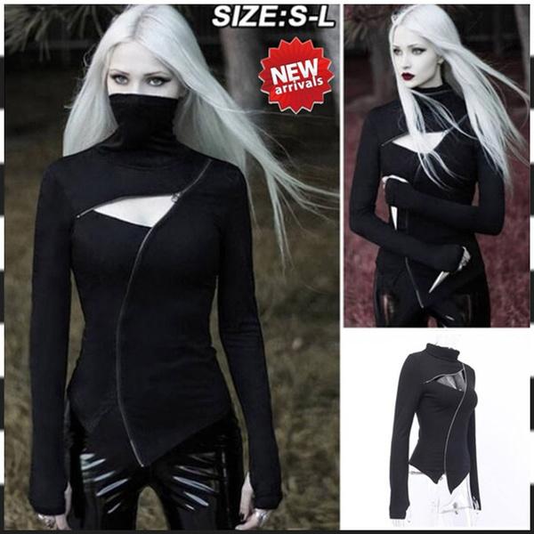 Goth, Fashion, Shirt, Long sleeved