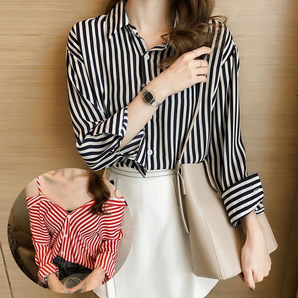 blouse, plus, Loose, Shirt