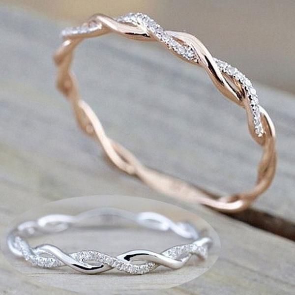 yellow gold, DIAMOND, Infinity, Jewelry