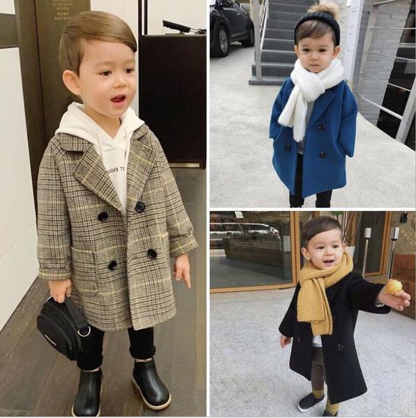 woolen, jackets for kids, childrenswoolencoat, childrenmidlengthcoat