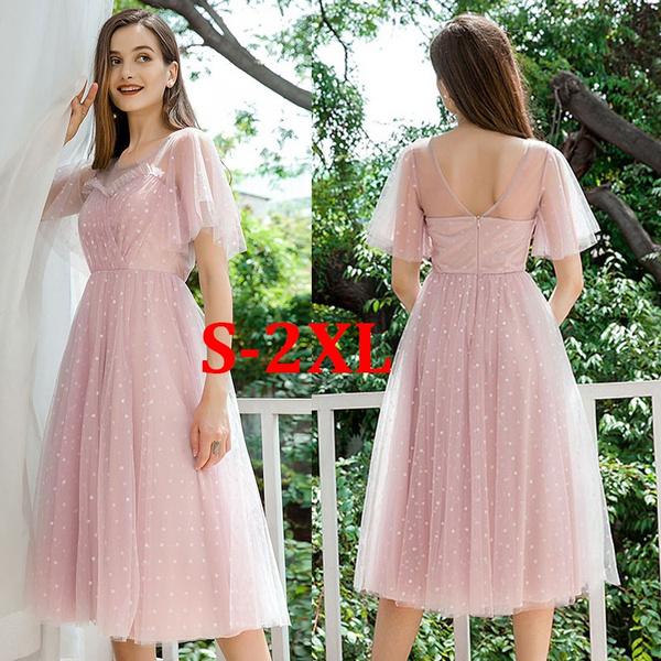 pink, vestidoscasuale, dressesforwomen, ruffle