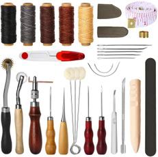 sewingknittingsupplie, stampingset, leather, saddlemaking