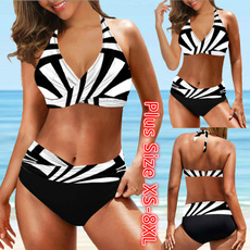 padded tankinis, Fashion, Plus Size Swimwear, Bikini swimwear